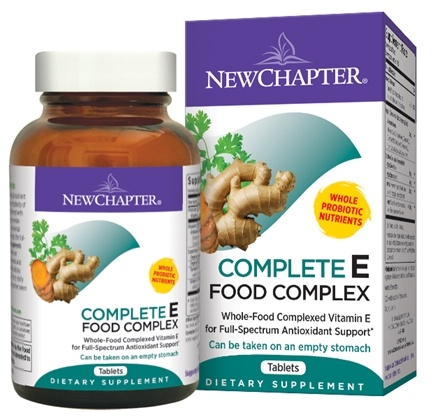 DROPPED: New Chapter - E Food Complex - 60 Tablets