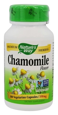 Nature's Way - Chamomile Flower 350 mg. - 100 Vegetarian Capsules