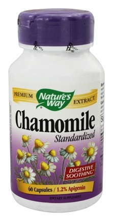 Nature's Way - Chamomile Standardized Extract - 60 Capsules