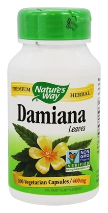 Nature's Way - Damiana Leaves 400 mg. - 100 Vegetarian Capsules