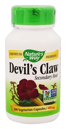 Nature's Way - Devil's Claw Secondary Root 480 mg. - 100 Vegetarian Capsules