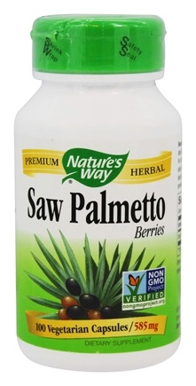 Nature's Way - Saw Palmetto Berries 585 mg. - 100 Capsules