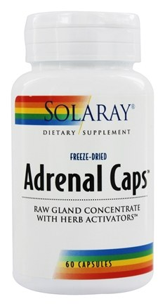 Solaray - Adrenal Caps - 60 Capsules