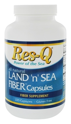 DROPPED: Res-Q - Land 'n' Sea Fiber Capsules - 225 Capsules