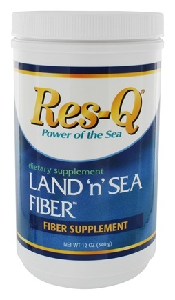 DROPPED: Res-Q - Land 'n' Sea Fiber Powder - 12 oz.