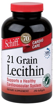 DROPPED: Schiff - 21 Grain Lecithin - 250 Softgels