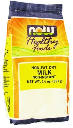 DROPPED: NOW Foods - Non Fat Dry Milk - 14 oz.