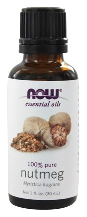 NOW Foods - Nutmeg Oil Pure - 1 oz.