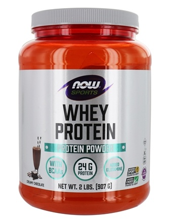 NOW Foods - Whey Protein Dutch Chocolate - 2 lbs.