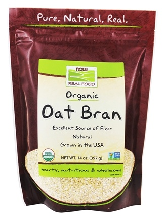 NOW Foods - Oat Bran - 14 oz.