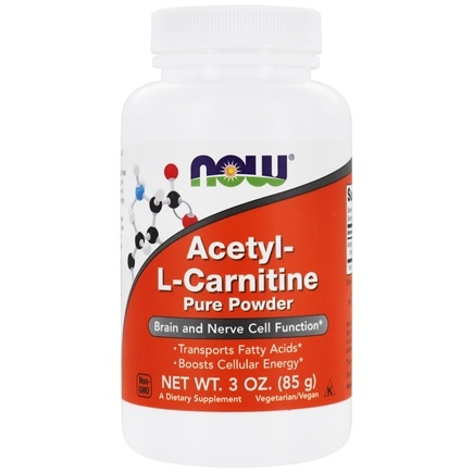 NOW Foods - Acetyl L-Carnitine Pure Powder - 3 oz.
