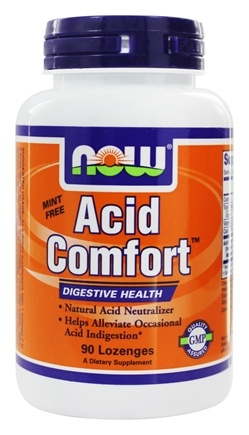 NOW Foods - Acid Comfort Digestive Health - 90 Lozenges