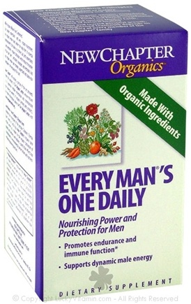 DROPPED: New Chapter - Every Man's One Daily SPECIALLY PRICED - 60 Tablets