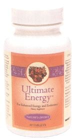 DROPPED: Nature's Secret - Ultimate Energy - 50 Tablets