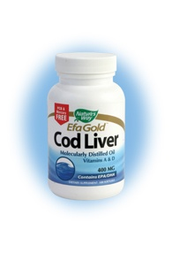 DROPPED: Nature's Way - Cod Liver Oil - 100 Softgels