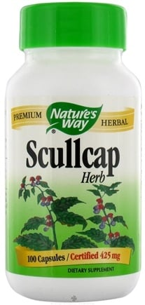 DROPPED: Nature's Way - Scullcap Herb - 100 Capsules CLEARANCE PRICED