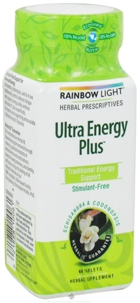 DROPPED: Rainbow Light - Ultra Energy Plus - 60 Tablets