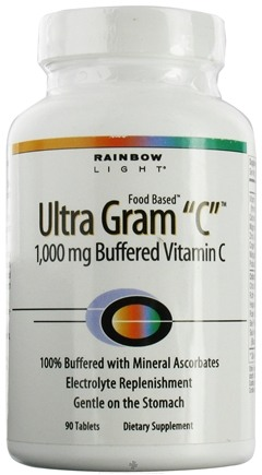 DROPPED: Rainbow Light - Ultra Gram C - 90 Tablets