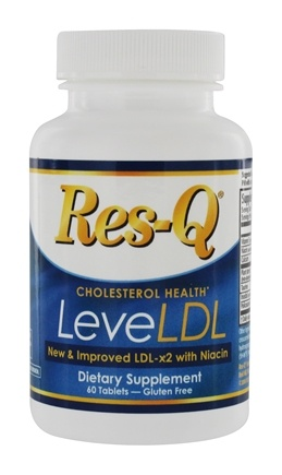 DROPPED: Res-Q - LDL-x2 with Niacin - 60 Caplets