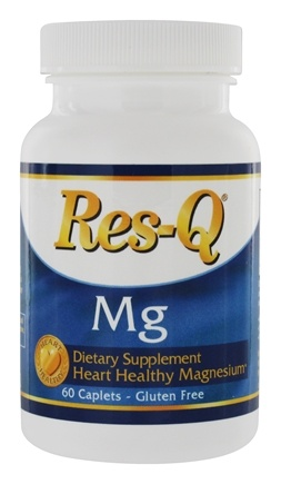 DROPPED: Res-Q - Mg Advanced Magnesium Supplement - 60 Caplets