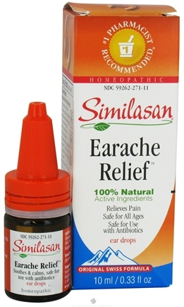 DROPPED: Similasan - Ear Relief Ear Drops - 0.33 oz. CLEARANCE PRICED