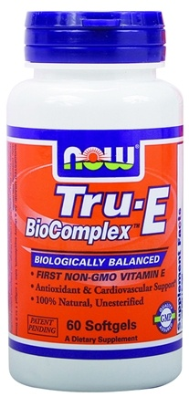 DROPPED: NOW Foods - Tru-E Biocomplex - 60 Softgels