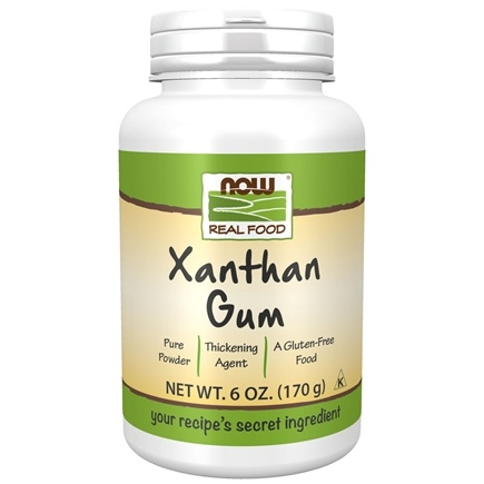 NOW Foods - Xanthan Gum Powder - 6 oz.