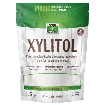 NOW Foods - Xylitol - 2.5 lbs.