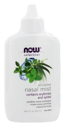 NOW Foods - Activated Nasal Mist with Xylitol - 2 oz.