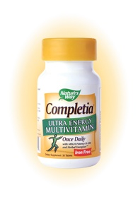 DROPPED: Nature's Way - Completia Energy Iron-Free - 30 Tablets