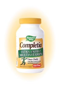 DROPPED: Nature's Way - Completia Energy Iron-Free - 90 Tablets