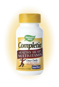 DROPPED: Nature's Way - Completia Heart Iron-Free - 60 Tablets