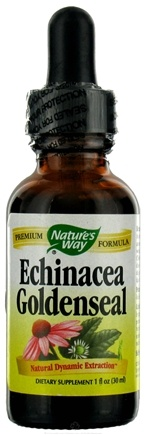 DROPPED: Nature's Way - Echinacea Goldenseal (Extracted In Alcohol & Spring Water) CLEARANCE PRICED - 1 oz.