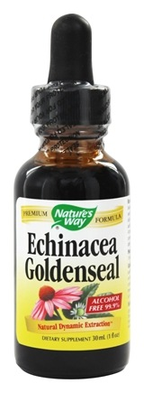 Nature's Way - Echinacea Goldenseal 99.9% Alcohol Free (In Natural Kosher Glycerin Base) - 1 oz.
