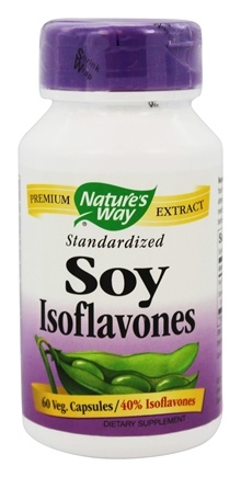 Nature's Way - Soy Isoflavone Standardized Extract - 60 Capsules