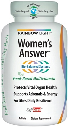 DROPPED: Rainbow Light - Women's Answer Multivitamin - 180 Tablets