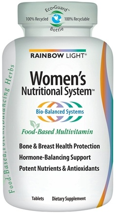 DROPPED: Rainbow Light - Women's Nutritional System Bio-Balanced Food-Based Multivitamin - 120 Tablets