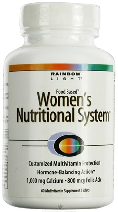 DROPPED: Rainbow Light - Women's Nutritional System - 60 Tablets