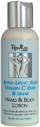DROPPED: Reviva Labs - Alpha Lipoic Hand & Body Lotion - 4 oz.