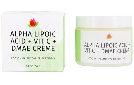 Reviva Labs - Alpha Lipoic Acid, Vitamin C Ester, & DMAE Cream - 2 oz.