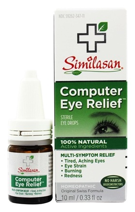 Similasan - Computer Eye Relief Eye Drops - 0.33 oz.