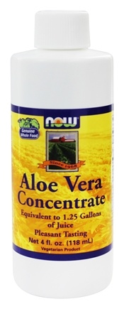 NOW Foods - Aloe Vera Concentrate - 4 oz.