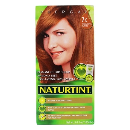 Naturtint - Permanent Hair Colorant 7C Terracotta Blonde - 4.5 oz.