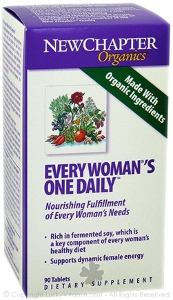 DROPPED: New Chapter - Every Woman's One Daily - 90 Tablets SPECIALLY PRICED