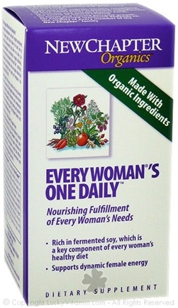 DROPPED: New Chapter - Every Woman's One Daily - 30 Tablets SPECIALLY PRICED