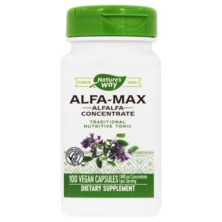 Nature's Way - Alfa-Max 525 mg. - 100 Capsules