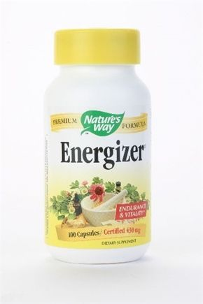 DROPPED: Nature's Way - Energizer - 100 Capsules