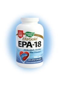 DROPPED: Nature's Way - EPA 18/12 Fish Oil CLEARANCE PRICED 1000 mg. - 200 Softgels