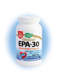 DROPPED: Nature's Way - EPA 30/20 Fish Oil 1000 mg. - 90 Softgels