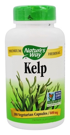 Nature's Way - Kelp 600 mg. - 180 Capsules